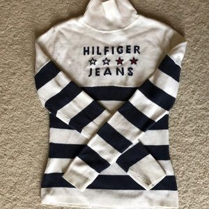 Tommy Hilfiger turtle neck sweater stripped